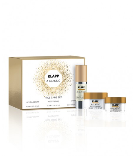 A CLASSIC FACE CARE SET Revital Serum, Effect Mask & Cream - 30ml, 50ml, 30ml
