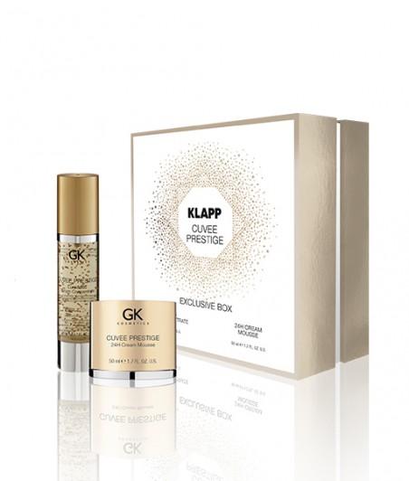 CUVEE PRESTIGE EXCLUSIVE BOX Luminous Serum Concentrate & 24H Cream Mousse - 50ml + 50ml