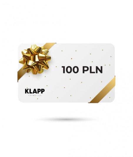 Karta podarunkowa - 100 PLN