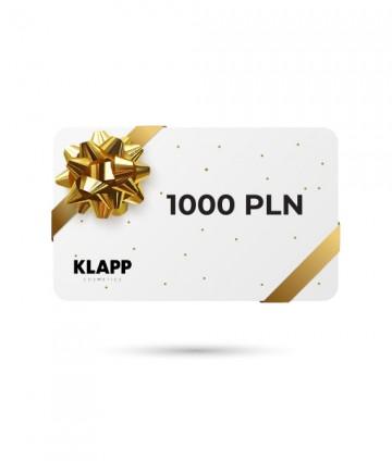 Karta podarunkowa - 1000 PLN