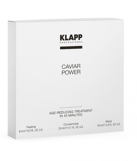 Zabieg AGE REDUCING IN 45 MINUTES - CAVIAR POWER